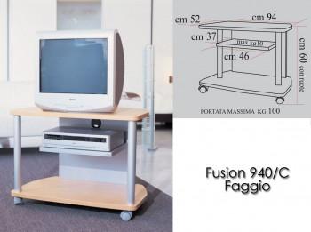 Porta tv con ruote fusion...
