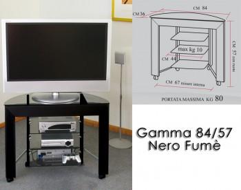 Gamma 84/57 Nero-Fumè