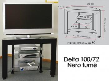 Porta tv con ruote - delta...