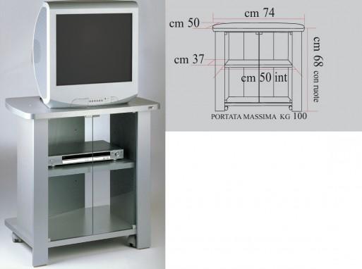 Carrelli Porta Tv Led.Carrello Porta Tv