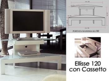 Mobile porta TV - Ellisse120/c
