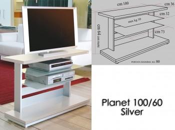 Porta tv con ruote planet...