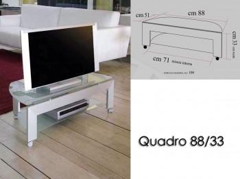 Porta tv con ruote -Q88/33